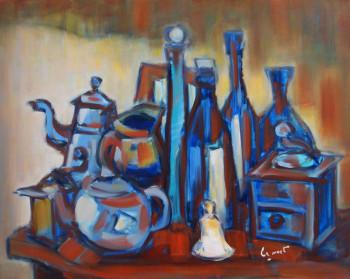 Les objets bleus sur le site d'ARTactif