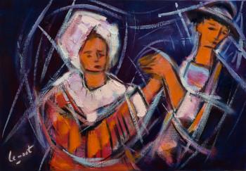 Couple de danseurs bretons sur le site d'ARTactif