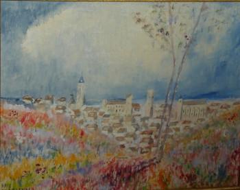 Paysage à Château-Landon (Gâtinais) sur le site d'ARTactif