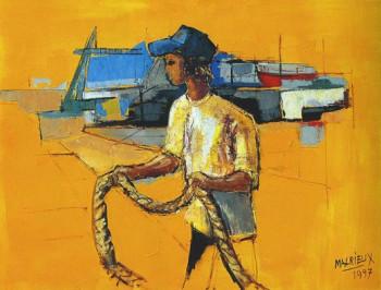 Les amarres sur le site d'ARTactif