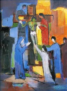 La Descente de croix II sur le site d'ARTactif
