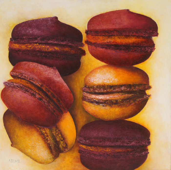 Macarons en tous sens sur le site d'ARTactif