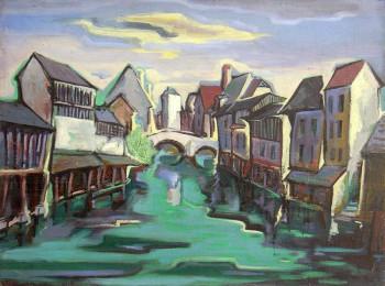 Chartres - l'Eure dans la basse Ville sur le site d'ARTactif
