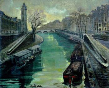 Le Pont St Michel Paris sur le site d'ARTactif