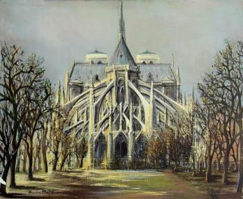 Chevet de Notre-Dame de Paris sur le site d'ARTactif