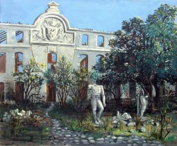 Ecole St Cyr (ruines de la cour d'honneur) sur le site d'ARTactif