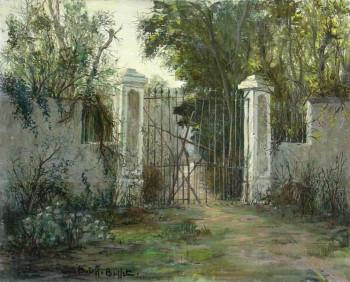 Le vieux portail sur le site d'ARTactif