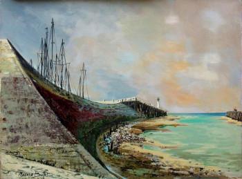 La jetée de Deauville sur le site d'ARTactif