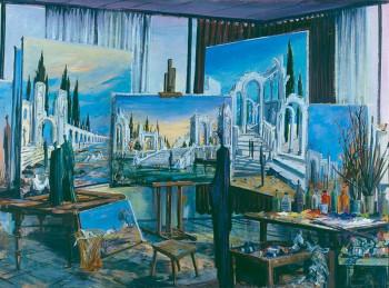 L'atelier du peintre sur le site d'ARTactif