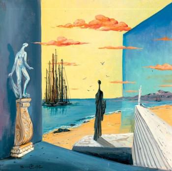 La visiteuse du port sur le site d'ARTactif