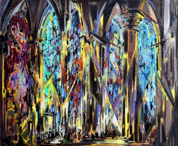 Splendeur de la lumière éternelle sur le site d'ARTactif