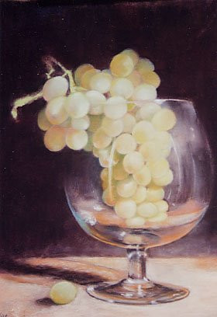 raisin dans grand verre sur le site d'ARTactif
