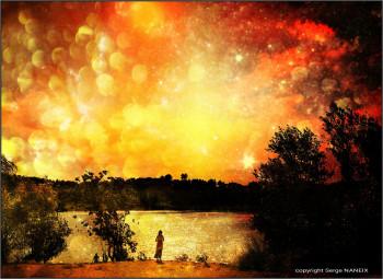 Féerie du lac du Crés sur le site d'ARTactif