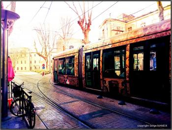 Vélo tram sur le site d'ARTactif