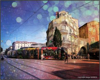 Tram fantastique sur le site d'ARTactif