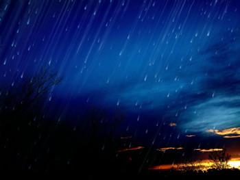 Nuit d'orage sur le site d'ARTactif