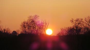 Soleil couchant 1 sur le site d'ARTactif
