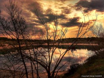 Soleil couchant 3 sur le site d'ARTactif