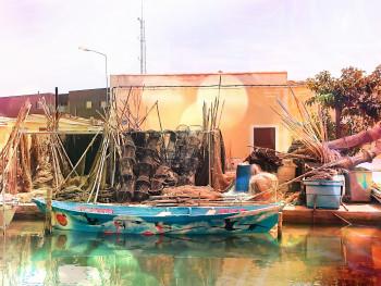 Pêcheurs à Palavas les flots sur le site d'ARTactif