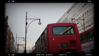 Bus sur le site d'ARTactif