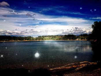 Le lac étoilé sur le site d'ARTactif