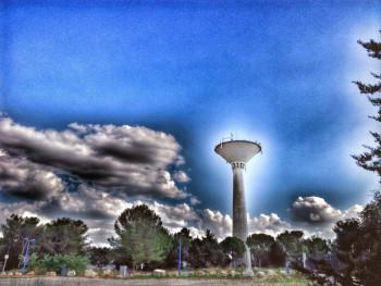 La tour spatiale sur le site d'ARTactif