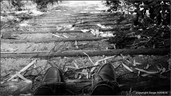 L'escalier sur le site d'ARTactif