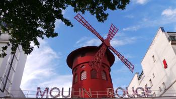 Moulin rouge sur le site d'ARTactif