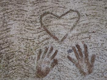 Mains coeur sur le site d'ARTactif