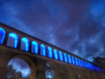 Aqueduc night sur le site d'ARTactif