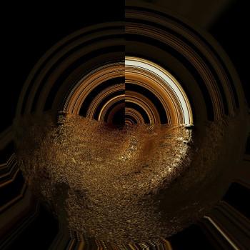 Pluie d'or sur le site d'ARTactif