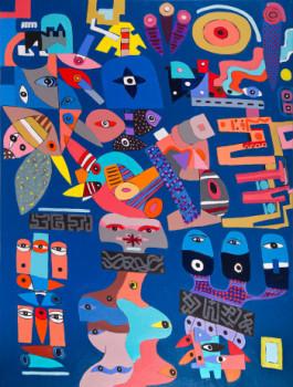 la vie en bleu sur le site d'ARTactif