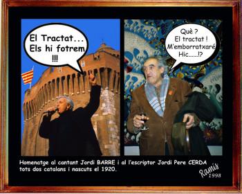 Hommage  à Jordi BARRE et Jordi PERE CERDA sur le site d'ARTactif