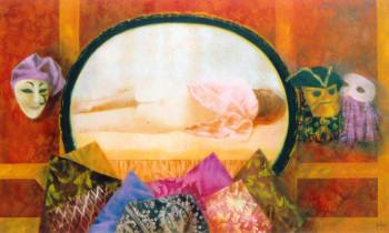 Colombine endormie sur le site d'ARTactif