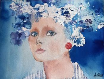 Les yeux bleus sur le site d'ARTactif
