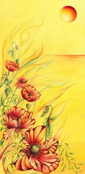 Les Coquelicots Fleurissent Même En Hiver sur le site d'ARTactif