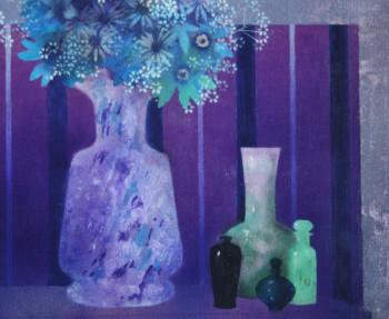 vase sur fond violet sur le site d'ARTactif