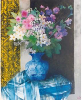 la nappe à rayures bleues sur le site d'ARTactif