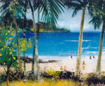 La plage des iles sur le site d'ARTactif