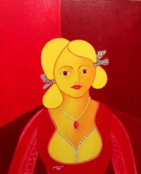 La femme au pendentif sur le site d'ARTactif
