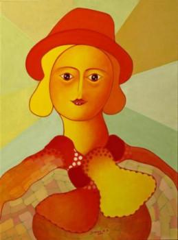 La femme au chapeau rouge sur le site d'ARTactif