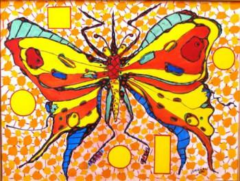 Papillon en 2040 sur le site d'ARTactif
