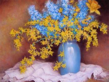Premières fleurs sur le site d'ARTactif