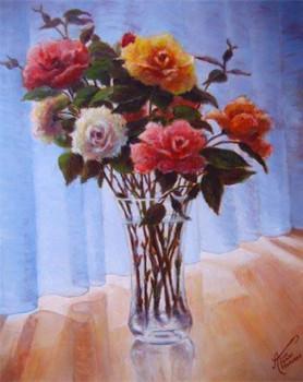 Roses de mon jardin sur le site d'ARTactif