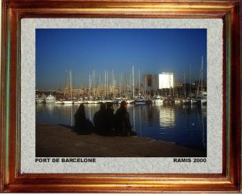 Catalogne sud; Port de Barcelone 2000 sur le site d'ARTactif