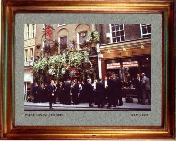 Angleterre; Pause business 1999 sur le site d'ARTactif