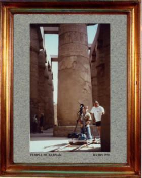 Egypte; Temple de Luxor 1996 sur le site d'ARTactif