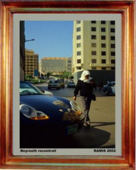 Liban; Beyrouth reconstruit 2002 sur le site d'ARTactif