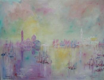 VENICE,clouds,water and fishermen sur le site d'ARTactif