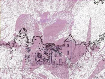 Filigrane château sur le site d'ARTactif